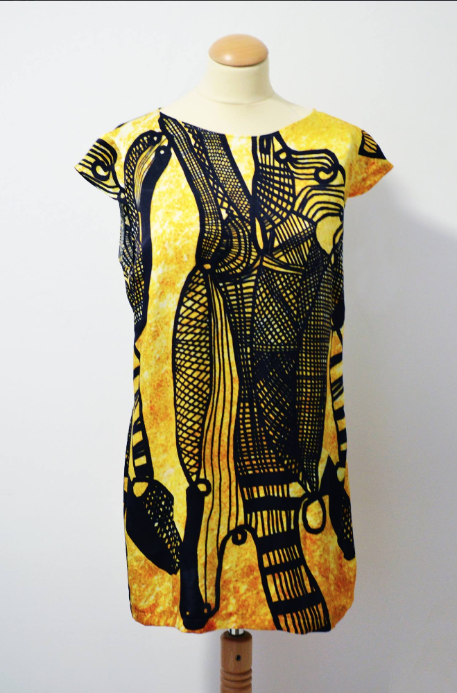 New Pulci on the move dress